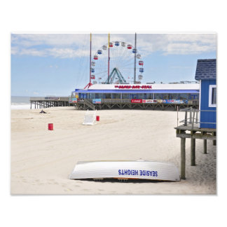 Seaside Heights Ferris Wheel Photographic Print