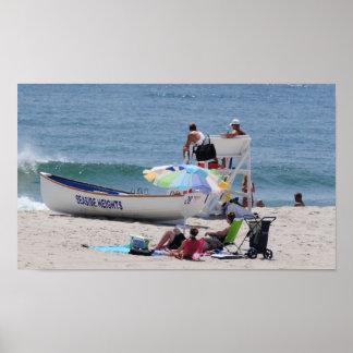 Seaside Heights Lifeguard Poster