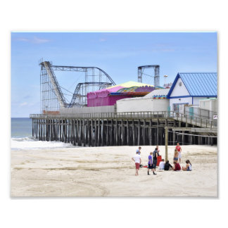 Seaside Heights, NJ Photo Print