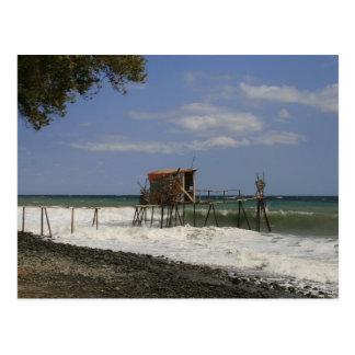 Seaside Holiday Postcard