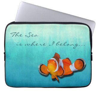 Seaside Inspirations Ombre Laptop Sleeve