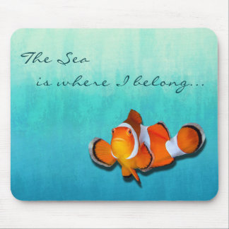 Seaside Inspirations Ombre Mouse Pad