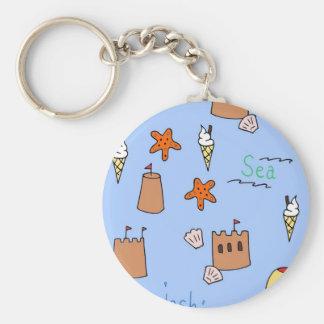 seaside keychain