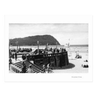 Seaside, Oregon Turnaround and Tillamook Head Postcard