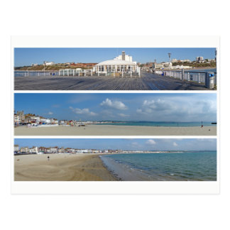 Seaside panoramas postcard