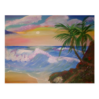 Seaside Pathway Postcard