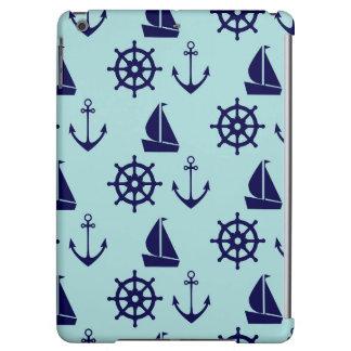 Seaside Pattern iPad Air Cover