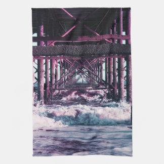Seaside Pier Tea Towel