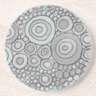 Seaside Poppy Sandstone Coaster