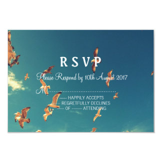 Seaside request RSVP card