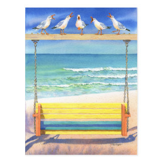 Seaside Serenade Postcard