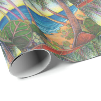 Seaside Stroll (2) Wrapping Paper