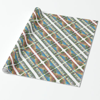 Seaside Stroll Wrapping Paper