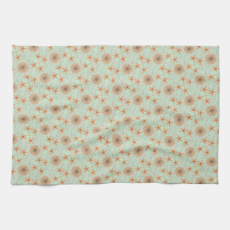Seaside Stuff Pattern Kitchen Towel