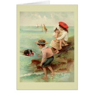 Seaside Vintage Illustration Card