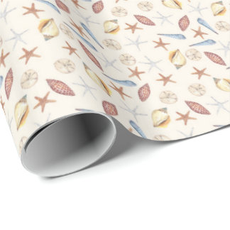 Seaside Wrapping Paper