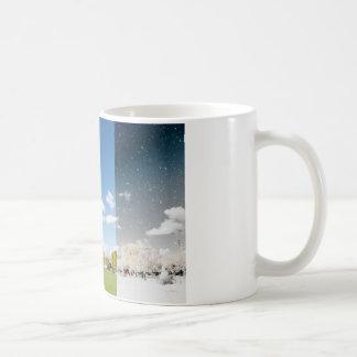 Season change in Paris Coffee Mug