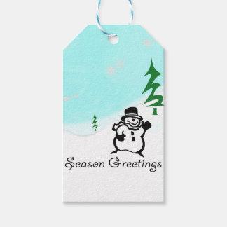 Season Greetings Gift Tags