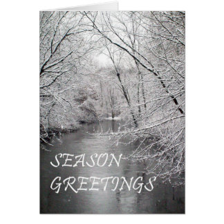 Season Greetings  Riverview Card