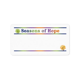 Season of Hope Address labels