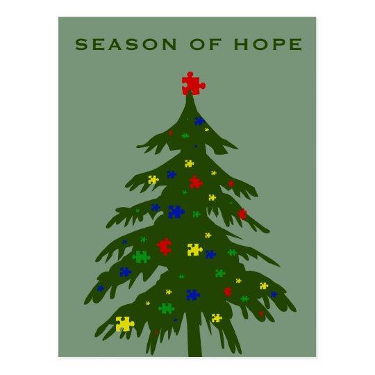 Season of Hope - Autism Postcard