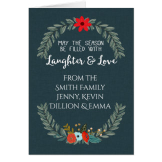 Season of Love and Laughter Card
