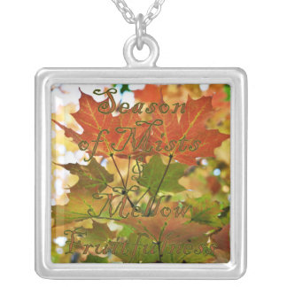 Season Of Mists Autumn Necklace