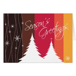 Season s Greetings Folded Holiday Card