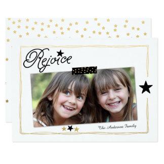 Season to Rejoice | Photo Holiday Card