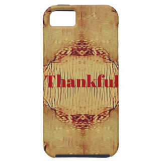 Seasonal Fall 'Thankful' Design Tote Case For The iPhone 5