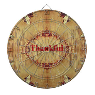 Seasonal Fall 'Thankful' Design Tote Dartboard