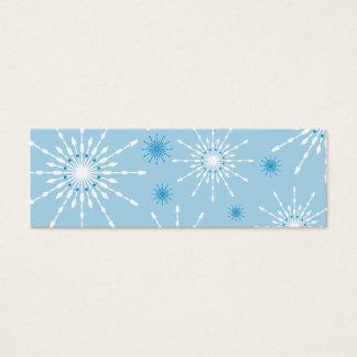 SEASONAL GIFT TAG :: patterned snowflake L5