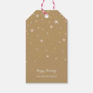 Seasonal Sparkle Holiday Gift Tags