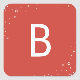 Seasonal Sparkle Holiday Sticker