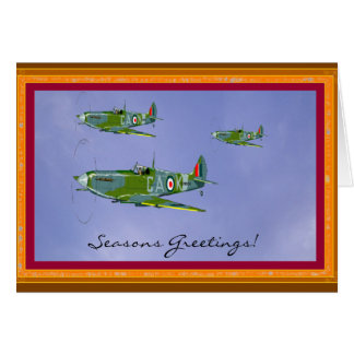 Seasonal Spitfire Greetings Card... Card