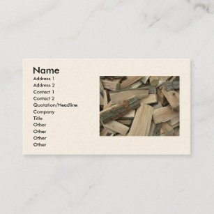 Firewood business cards business card printing zazzle ca seasoned firewood business card colourmoves
