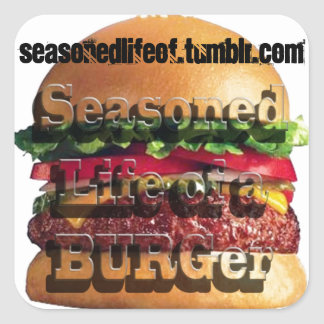 Seasoned Life of a BURGer Sticker