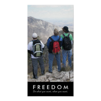 Seasoning Boyz, Freedom Poster