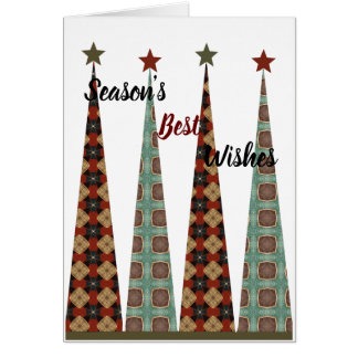 Seasons Best Wishes Card