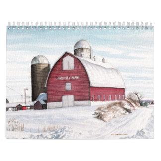 Seasons Calendar by Michael Martin
