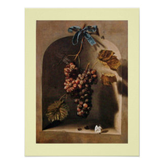 SEASON'S FRUITS -PROSPERITY yellow brown cream Poster
