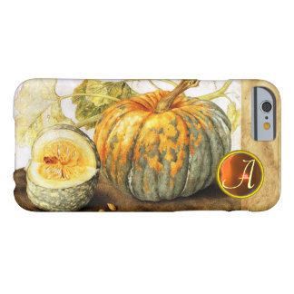 SEASON'S FRUITS  / PUMPKINS MONOGRAM BARELY THERE iPhone 6 CASE