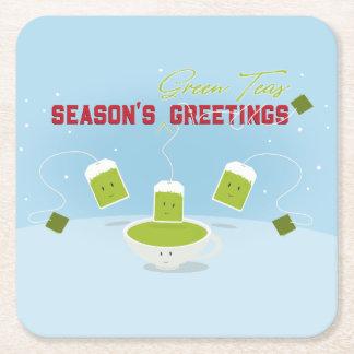 Season's Green Teas | Coaster