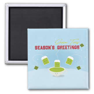Season's Green Teas | Magnet