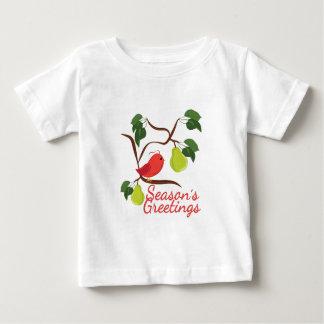 Seasons Greetin Baby T-Shirt