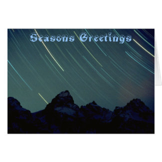 seasons greeting #3 card