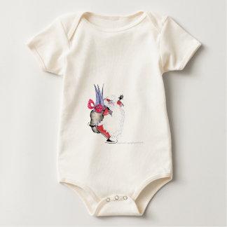 Seasons Greetings 1 by Tony Fernandes Baby Bodysuit
