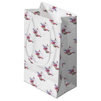 Seasons Greetings 1 by Tony Fernandes Small Gift Bag
