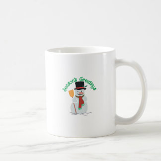 Seasons Greetings Basic White Mug
