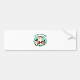 Seasons Greetings Bumper Sticker